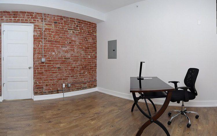 Indianapolis Property Penn Building brick wall